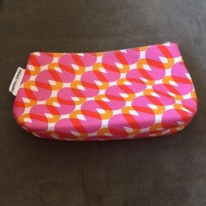 3/$10 • Clinique Pink and Orange Makeup Bag • New